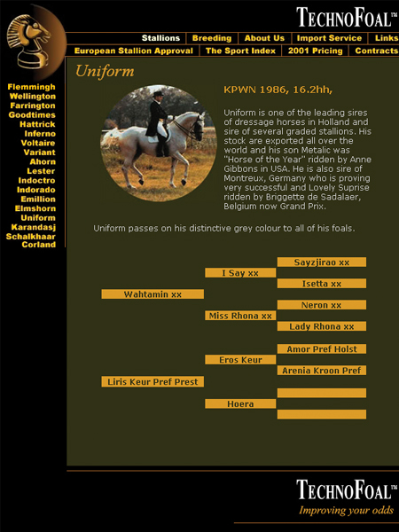 Horse World website design, graphic design, rotating advertising, bulletin board creation and maintenance, HTML coaching and training [2008-2015]